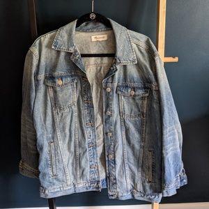 Oversized Madewell Denim Jacket